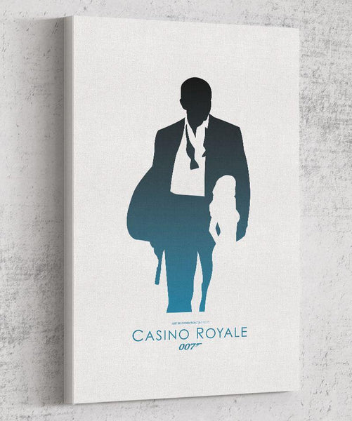 Casino Royale Canvas by The Pixel Empire - Pixel Empire