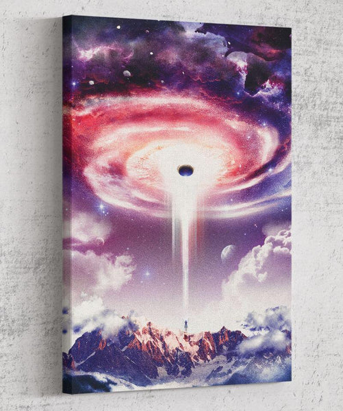 Wormhole Canvas by Barrett Biggers - Pixel Empire