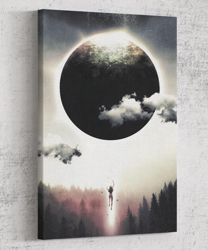 Dreams of Gravity Canvas by Barrett Biggers - Pixel Empire