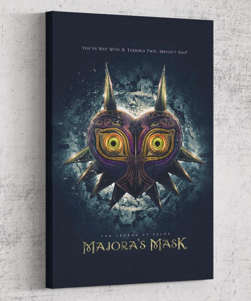 Majora's Mask Canvas by Barrett Biggers - Pixel Empire