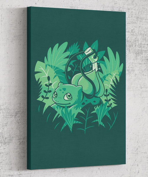 The Gardener Canvas by Elia Colombo - Pixel Empire