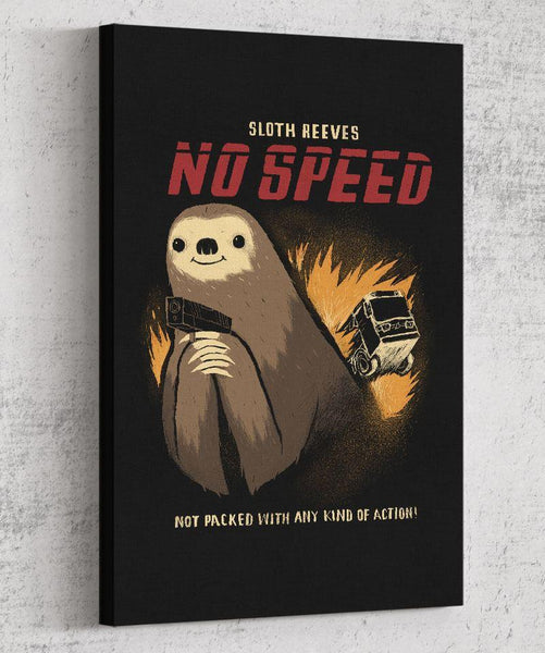 No Speed Canvas by Louis Roskosch - Pixel Empire
