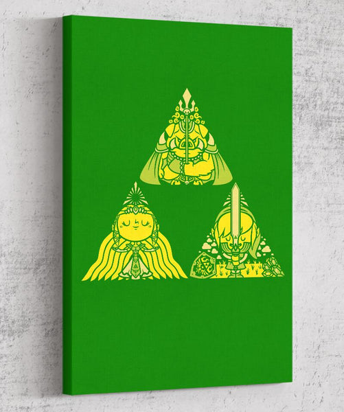 Triforce Canvas by COD Designs - Pixel Empire