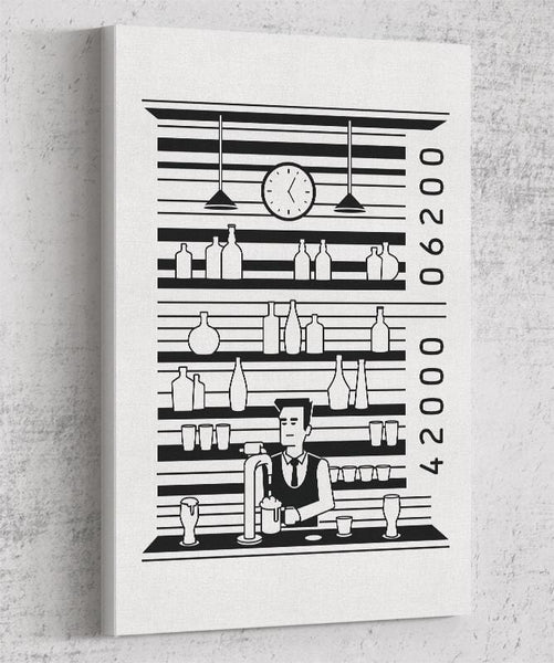 Bar Code Canvas by Grant Shepley - Pixel Empire