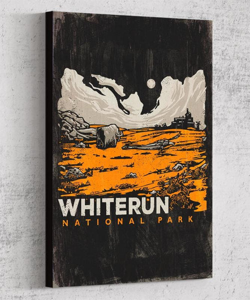 Whiterun Canvas by Ronan Lynam - Pixel Empire