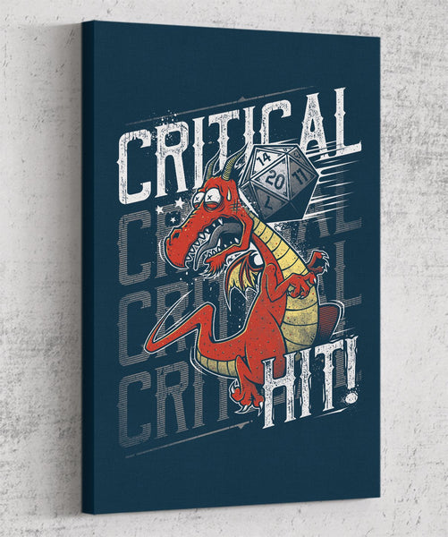 Supa Critical Hit Canvas by Studiom6 - Pixel Empire