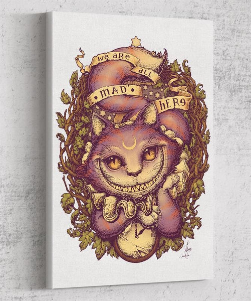 Cheshire Cat Canvas by Medusa Dollmaker - Pixel Empire