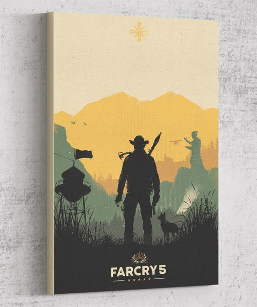 Far Cry 5 Canvas by Felix Tindall - Pixel Empire