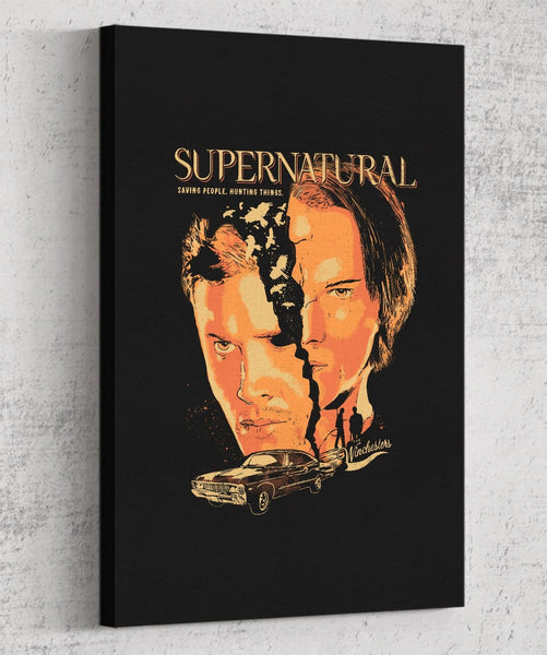 Supernatural Canvas by Eduardo Ely - Pixel Empire
