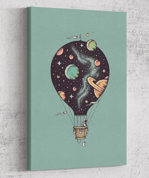 Interstellar Journey Canvas by Enkel Dika - Pixel Empire
