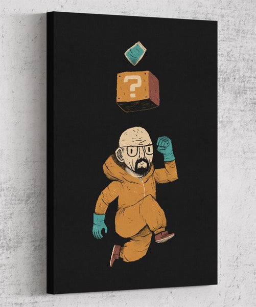Heisenberg Power Up Canvas by Louis Roskosch - Pixel Empire