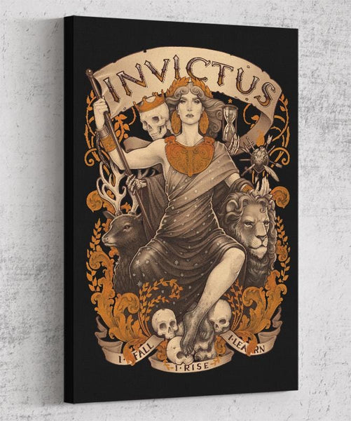 Invictus Canvas by Medusa Dollmaker - Pixel Empire