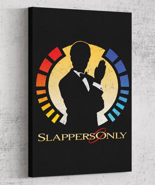 Slappers Only Canvas by Cory Freeman Design - Pixel Empire