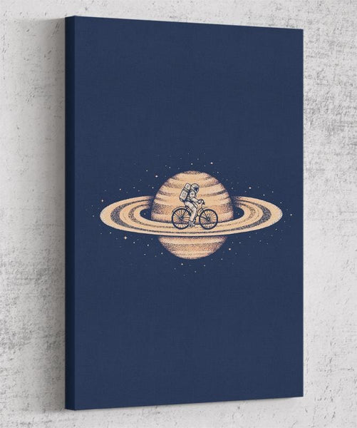 Space Ride Canvas by Enkel Dika - Pixel Empire