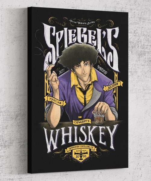 Spiegels Whiskey Canvas by Barrett Biggers - Pixel Empire