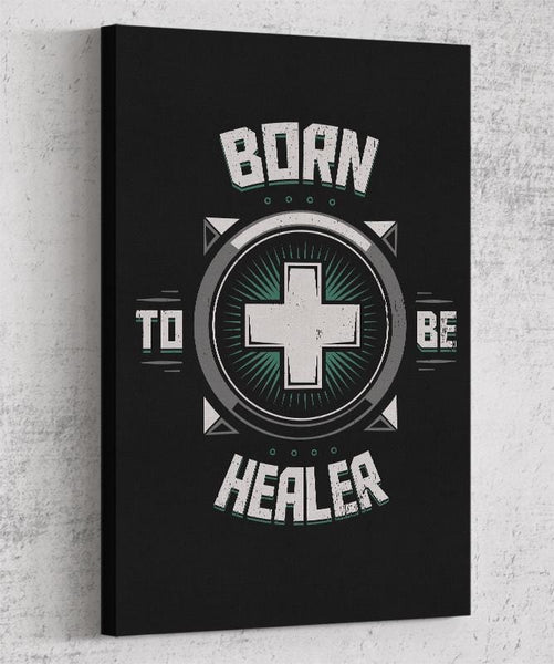 Born To Be Healer Canvas by Typhoonic - Pixel Empire