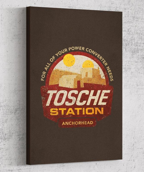 Tosche Station Canvas by Cory Freeman Design - Pixel Empire