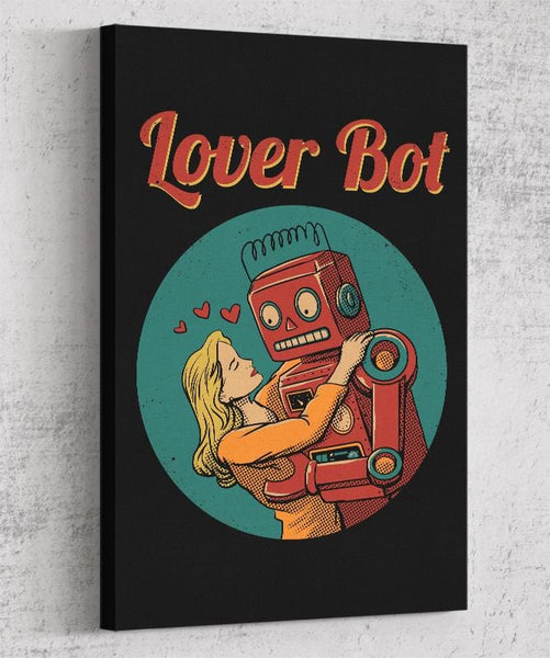 Lover Bot Canvas by Vincent Trinidad - Pixel Empire