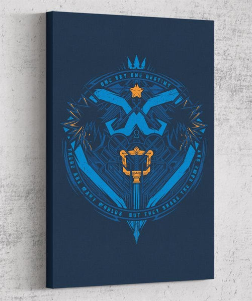 One Sky One Destiny Canvas by StudioM6 - Pixel Empire
