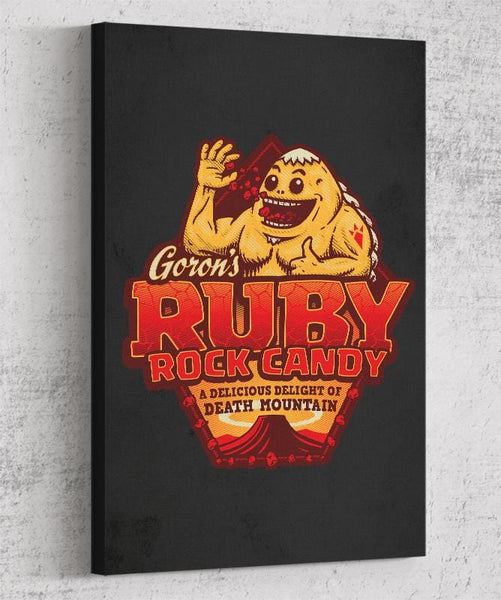 Goron Rock Candy Canvas by Cory Freeman Design - Pixel Empire
