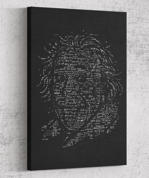 Albert Einstein Canvas by Grant Shepley - Pixel Empire