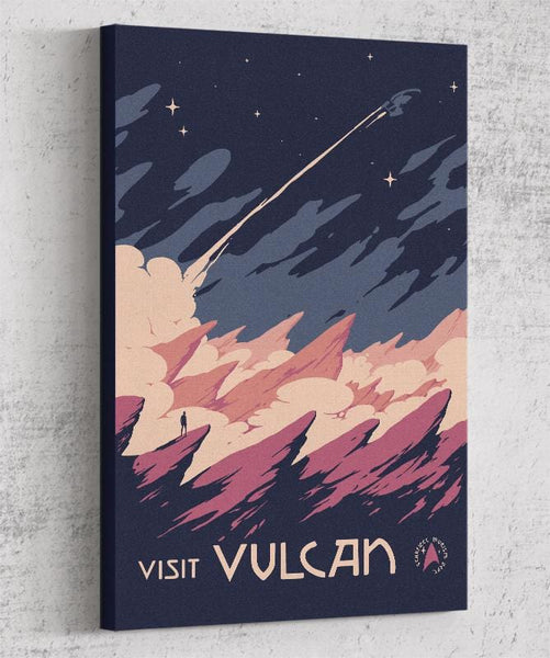 Visit Vulcan Canvas by Mathiole - Pixel Empire