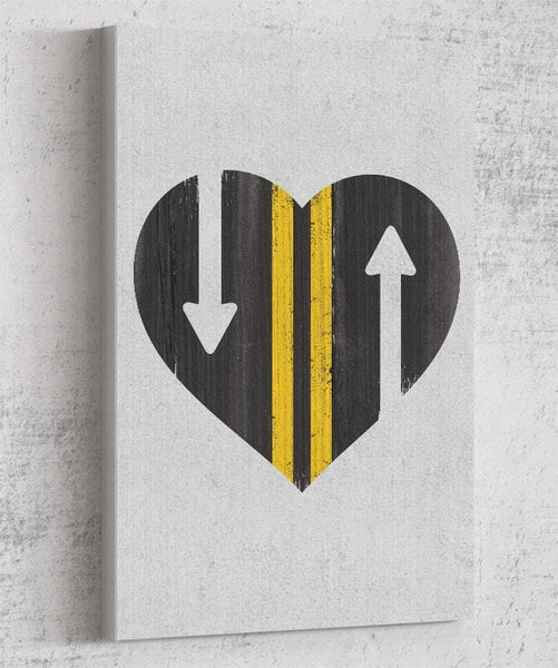 Love Is A Two Way Street Canvas by Perry Beane - Pixel Empire