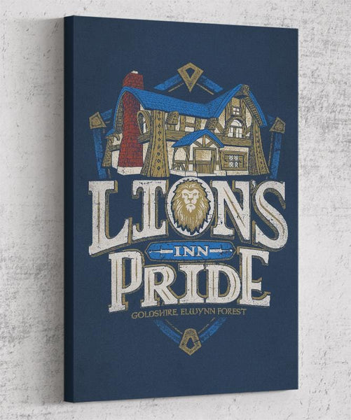Lion's Pride Inn Canvas by Cory Freeman Design - Pixel Empire