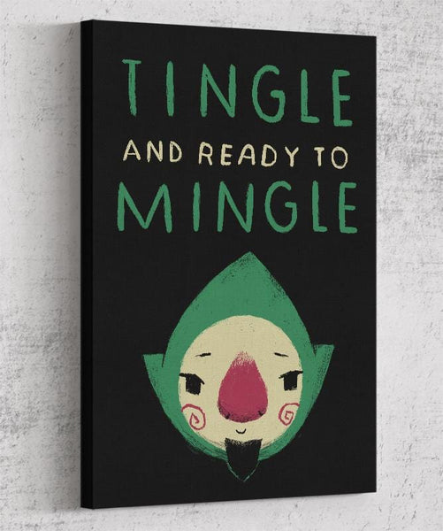 Tingle And Ready To Mingle Canvas by Louis Roskosch - Pixel Empire