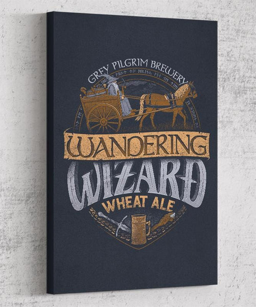 Wandering Wizard Wheat Ale Canvas by Cory Freeman Design - Pixel Empire