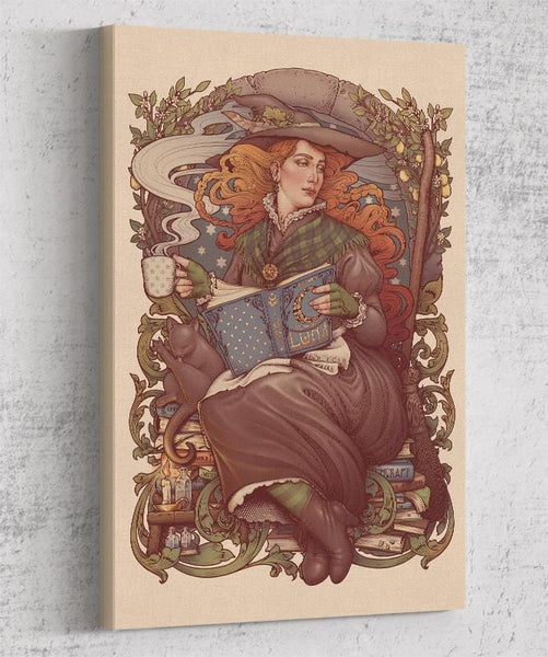 Folk Witch Canvas by Medusa Dollmaker - Pixel Empire