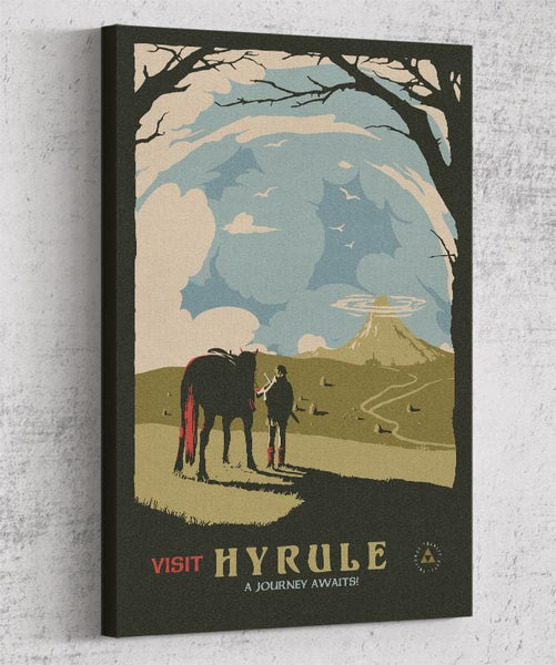 Visit Hyrule Canvas by Mathiole - Pixel Empire