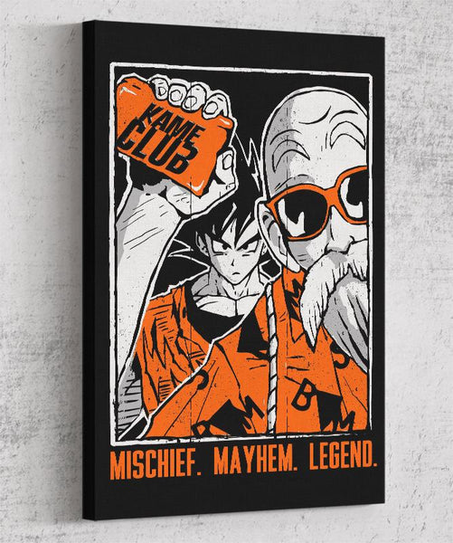 Kame Club Canvas by Tee No Evil - Pixel Empire