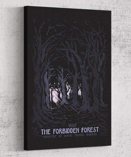 Visit The Forbidden Forest Canvas by Mathiole - Pixel Empire