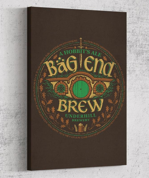 Bag End Brew Canvas by Cory Freeman Design - Pixel Empire