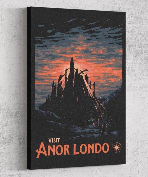 Visit Anor Londo Canvas by Mathiole - Pixel Empire