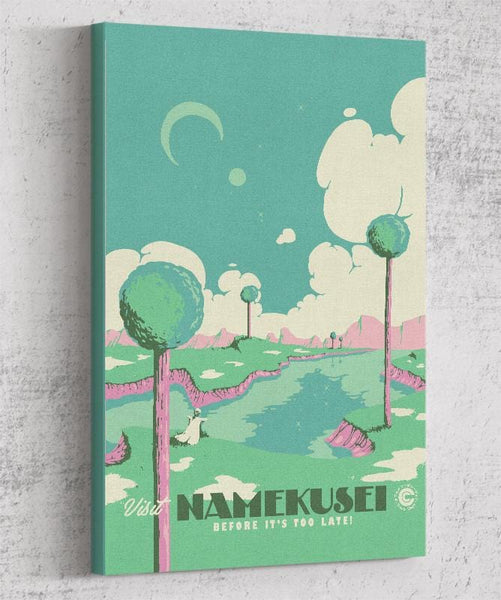 Visit Namekusei Canvas by Mathiole - Pixel Empire