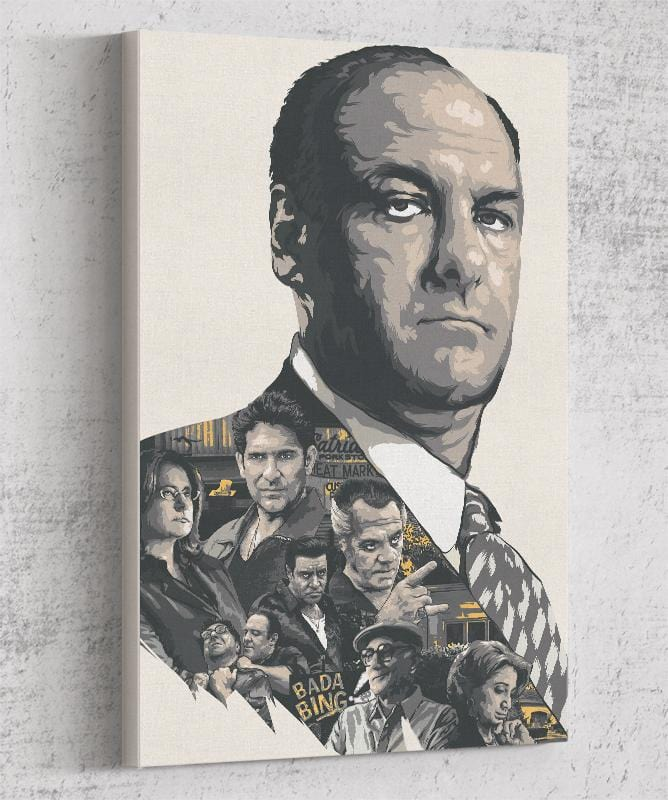 The Sopranos Canvas by The Usher Designs - Pixel Empire