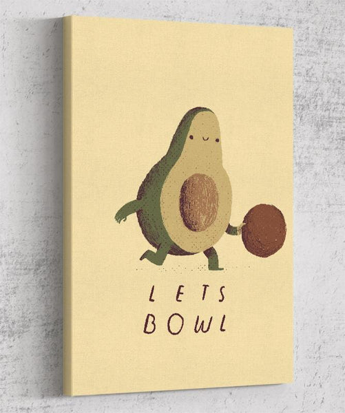 Lets Bowl Canvas by Louis Roskosch - Pixel Empire