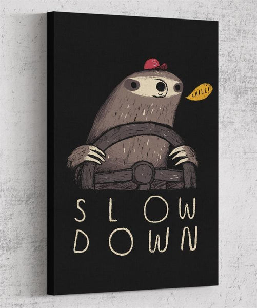 Slow Down Canvas by Louis Roskosch - Pixel Empire