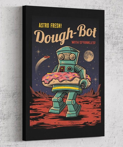 Dough Bot Canvas by Vincent Trinidad - Pixel Empire