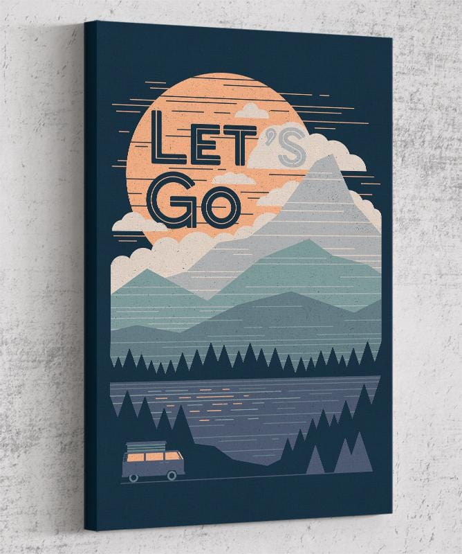 Let's Go Canvas by Rick Crane - Pixel Empire