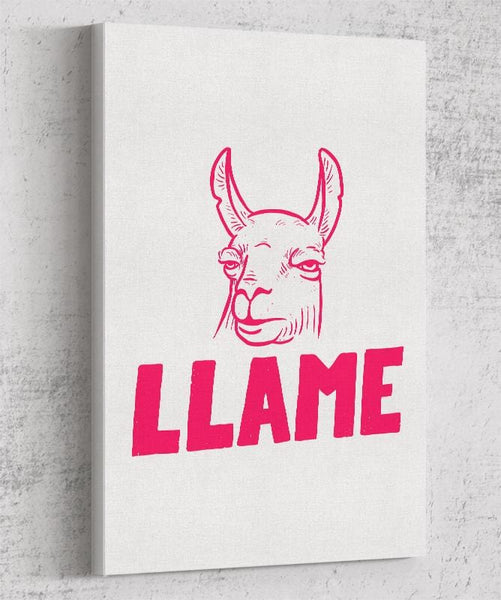 Llame Canvas by Mathijs Vissers - Pixel Empire
