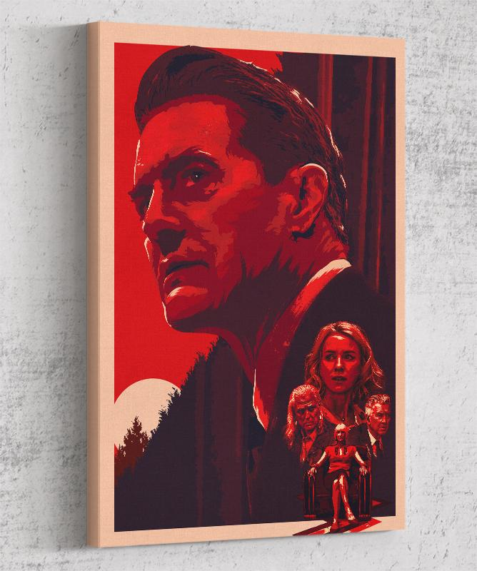 Twin Peaks Canvas by The Usher Designs - Pixel Empire