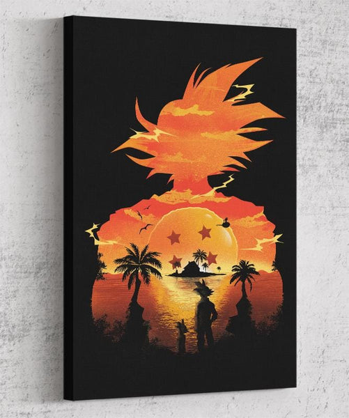 Beautiful Sunset Canvas by Dan Elijah Fajardo - Pixel Empire