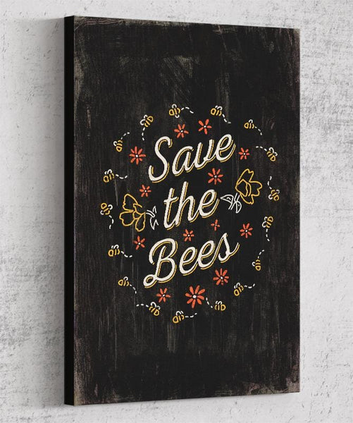 Save The Bees Canvas by Ronan Lynam - Pixel Empire