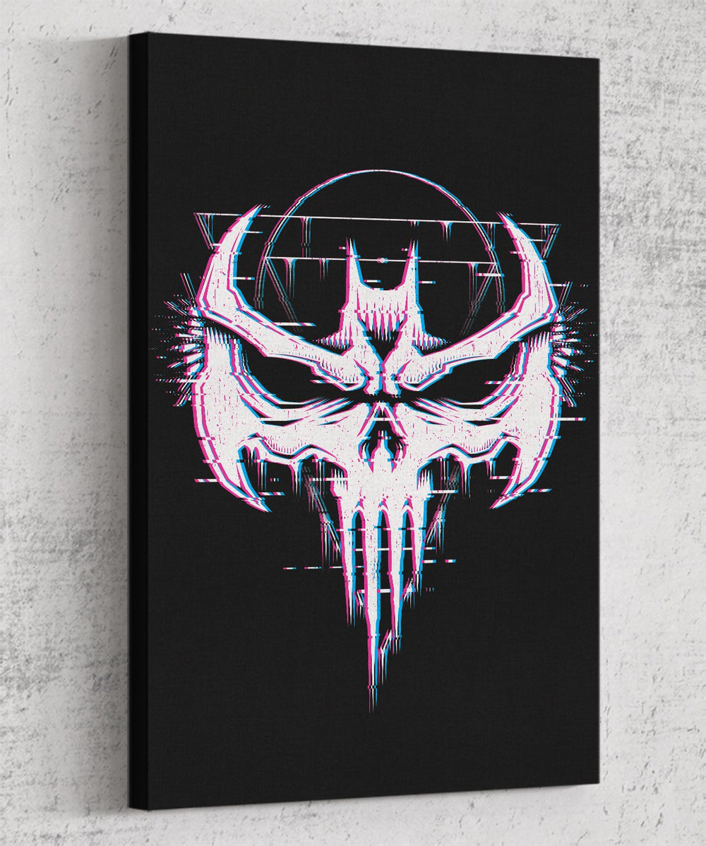 Batskull Canvas by Studiom6 - Pixel Empire