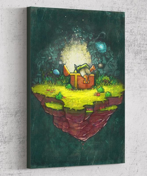 Zelda Treasure Canvas by Ronan Lynam - Pixel Empire