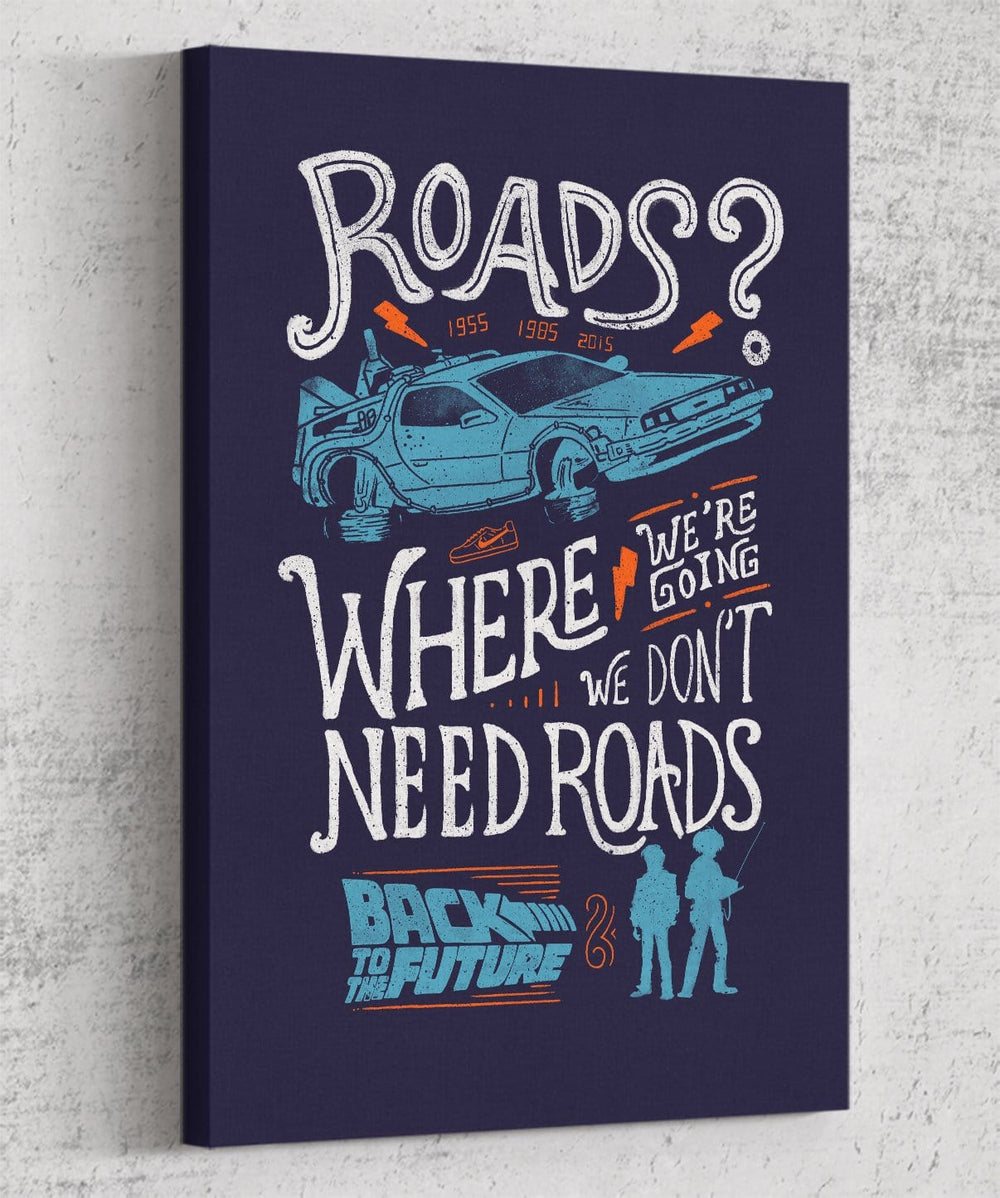 We Don't Need Roads Canvas by Eduardo Ely - Pixel Empire