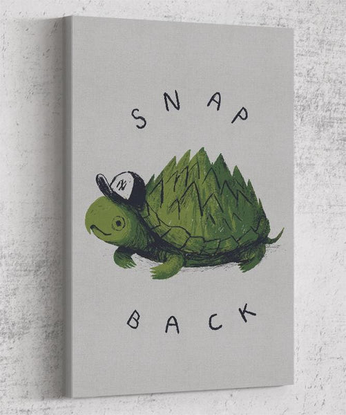 Snap Back Canvas by Louis Roskosch - Pixel Empire